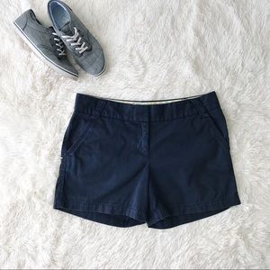 J.Crew broken in chino navy shorts city fit